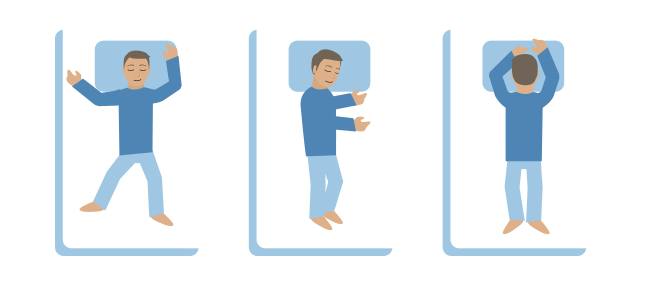 how sleeping posture effect your health