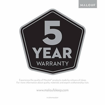 natural talalay latex zoned pillow 5 years warranty
