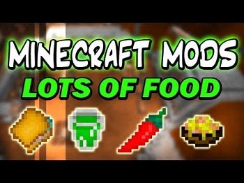 Lots of Food Mod