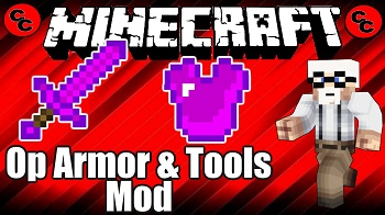 OP Armor and Tools Mod